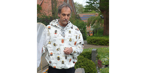Wildbienen-Experte Volker Fockenberg